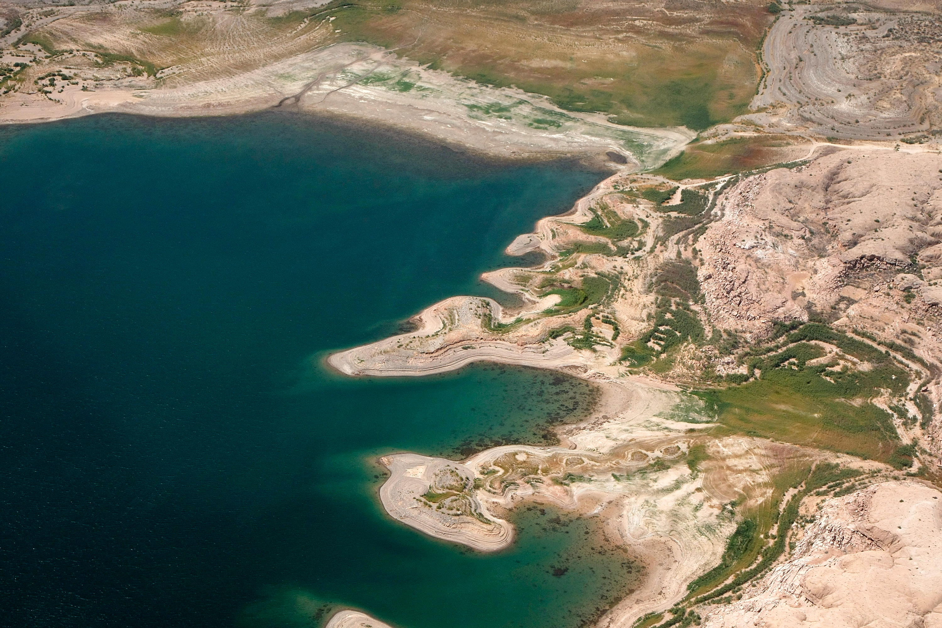 Aerials Of Lake Mead National Recreation Area