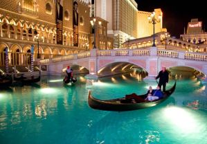 The Venetian Hotel in Las Vegas, NV.