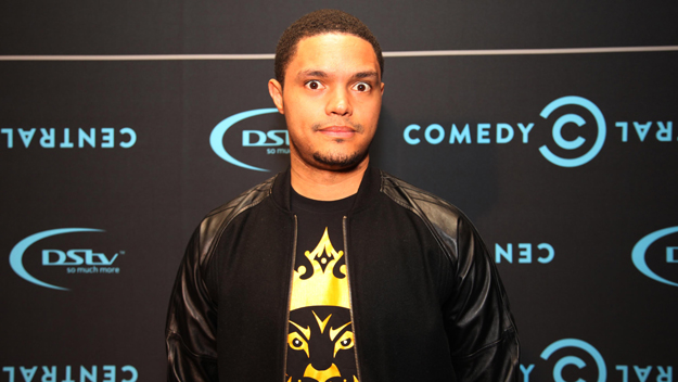 Trevor Noah attends  the Comedy Central Roast of Steve Hofmeyer at the Lyric Theatre, Gold Reef City on September 11, 2012 in Johannesburg, South Africa.  (Photo by Justin Barlow/Gallo Images/Getty Images)