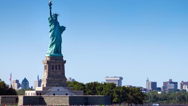 Statue of Liberty, Lady Liberty, New York, July 4th