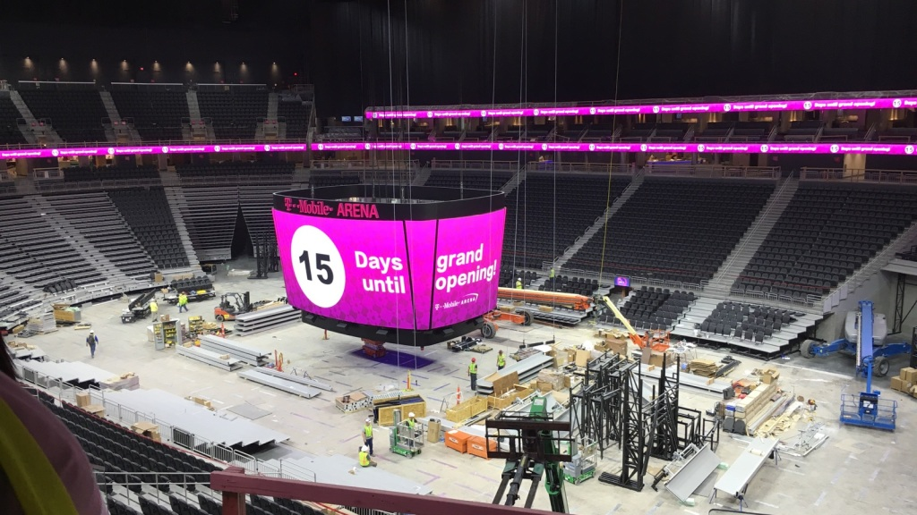 Get To Know T Mobile Arena With A Game Of True Or False Cbs Las